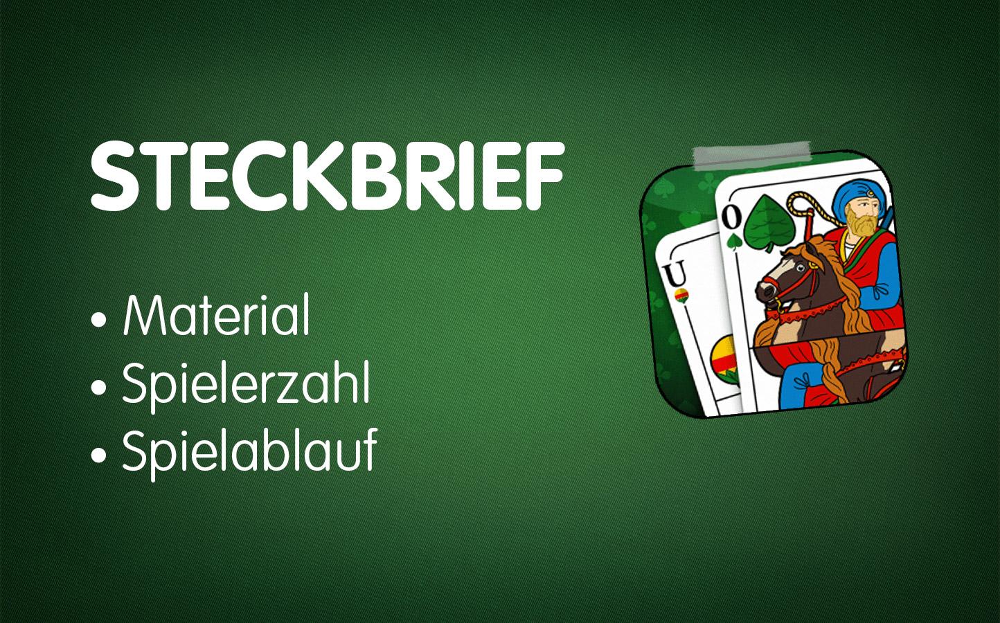 Lektion 1: Binokel-Steckbrief