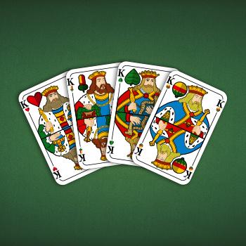 Die vier Könige des württembergischen Blattes