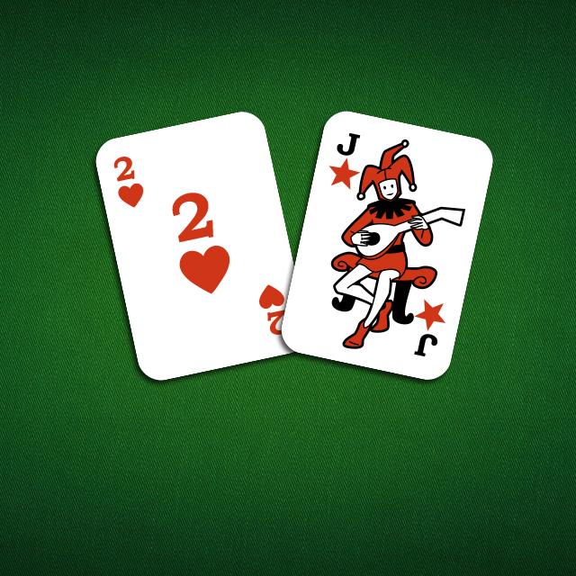 Zwei und Joker