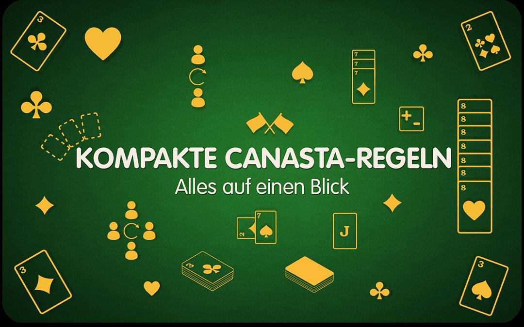Vorschau kompakte Canasta-Regeln