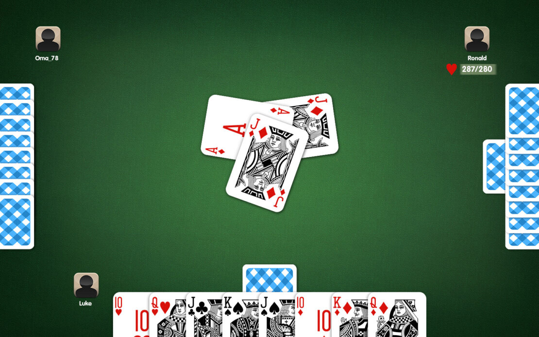 Pinochle Playing Field - Declarer Passed Bid Value