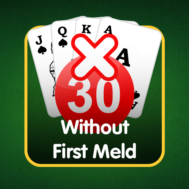 Rummy Icon: Without First Meld