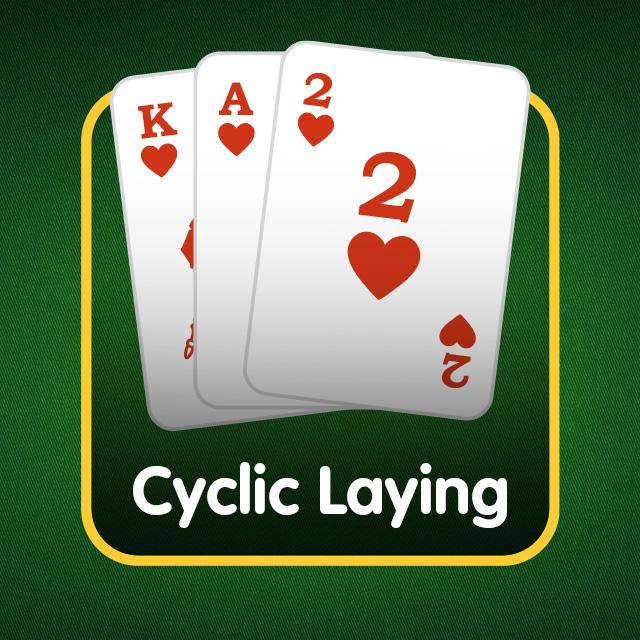 Rummy Icon: Cyclic Laying