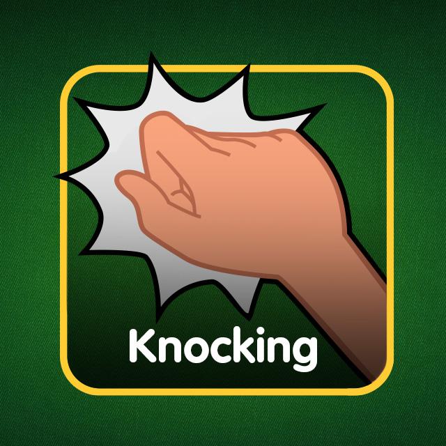 Rummy Icon: Knocking