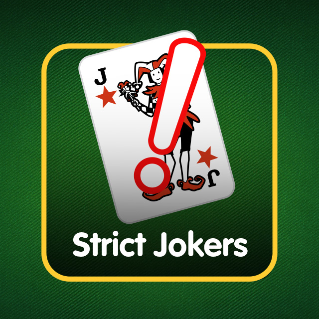 Rummy Icon: Strict Jokers