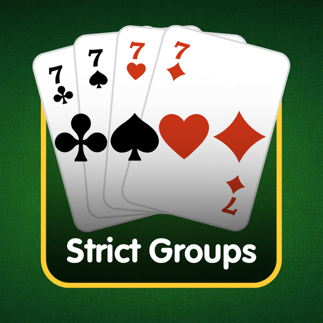 Rummy Icon: Strict Groups