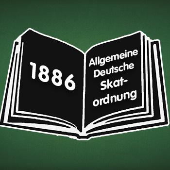 Symbolbild: erste allgemeine deutsche Skatordnung