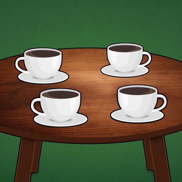 Skat-Icon Kaffeekränzchen