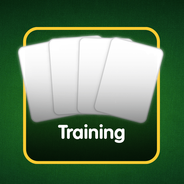 Rommé-Icon: Training