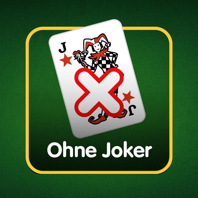 Rommé-Icon: ohne Joker