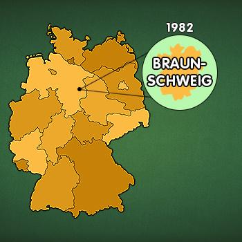 Landkarte Deutschland - Gründung DDV