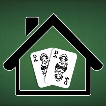 Symbolbild Doppelkopf zu Hause
