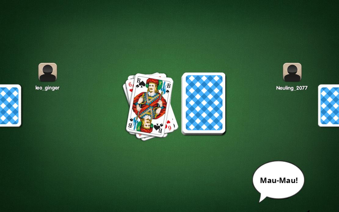 Spielfeld - Mau-Mau!