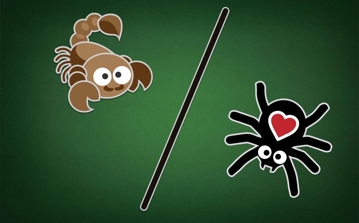 Lektion 3: Spider und Scorpion Solitaire