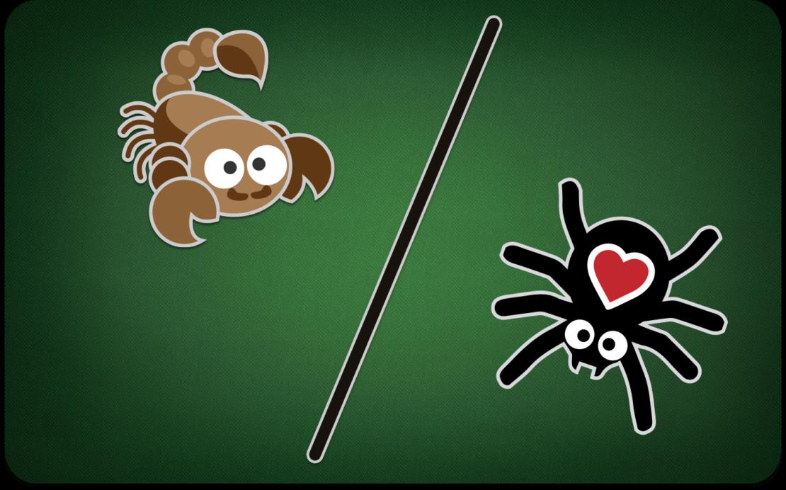 Vorschau Spider-Lektion 3: Spider und Scorpion