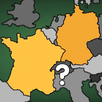 Landkarte: Deutschland oder Frankreich?